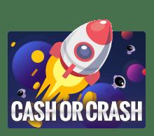 เกมจรวด cash or crash ufabet